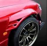 フロント GTオーバーフェンダー 60mmワイド ダクトネット付き