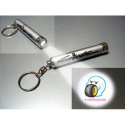 画像1: OBAKE LEDライト キーホルダー